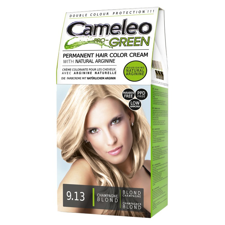 Image of Cameleo Pro Green 9.13 Champagne Blond Haarkleuring
