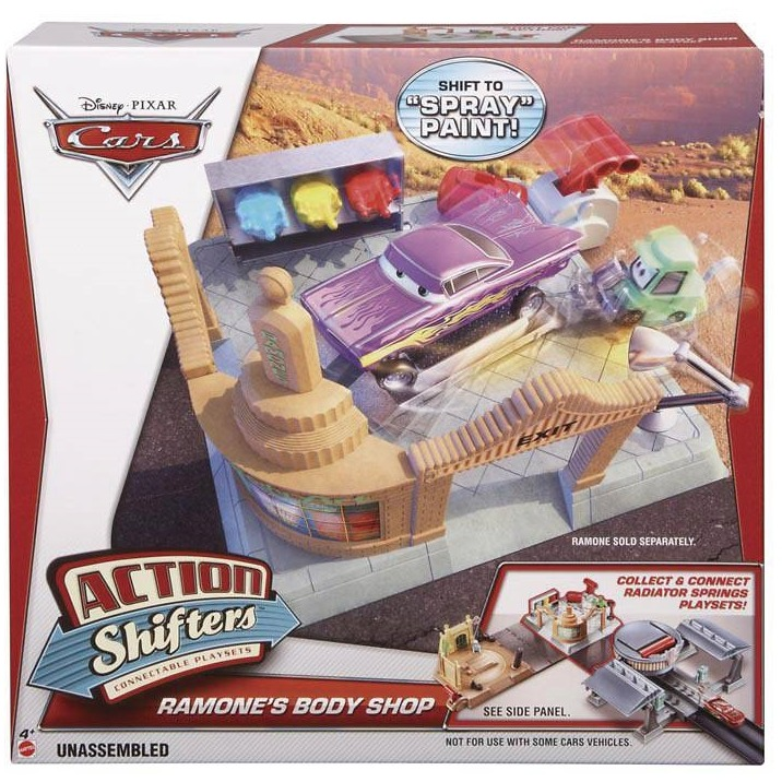 Action Shifters Cars 2: Ramone -