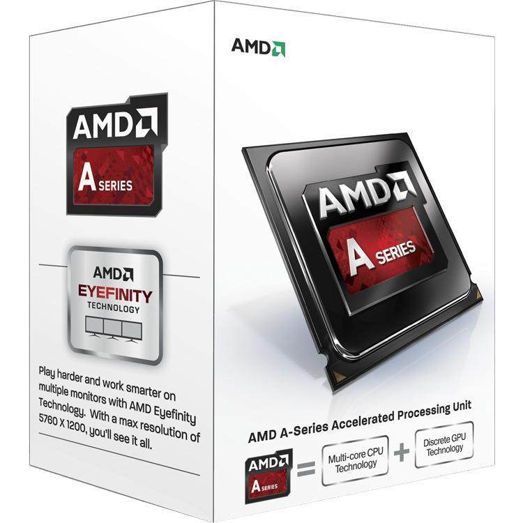 CPU A4 X2 6300 3.9Ghz 1MB FM2 65 watt