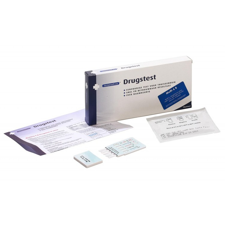 Image of Drugstest Multi- 6 B (2 Testen)