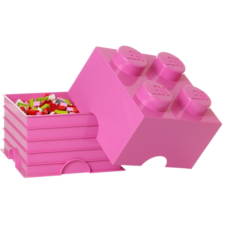 Opbergbox Lego Friends: brick 4 roze (8018092)