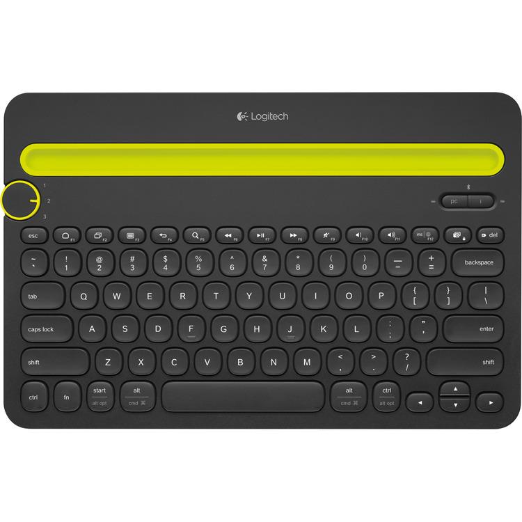 K480 Multi-Device Keyboard Zwart
