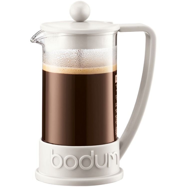Bodum Brazil Cafetière - 3-kops - 0,35 l - Gebroken wit
