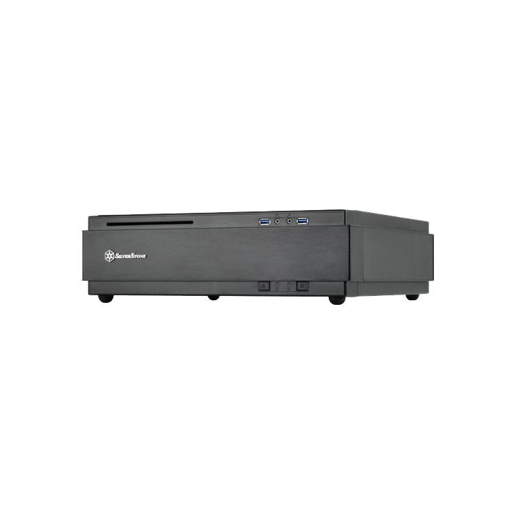 Geh Silverstone SST-ML07B       HTPC  mITX USB3      zwart r