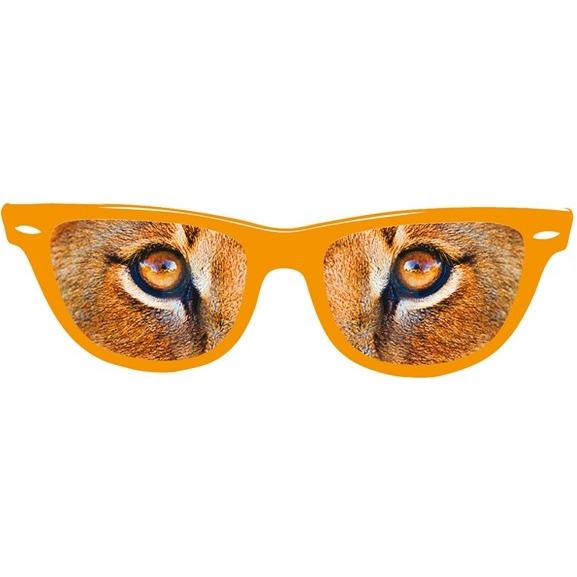 Bril holland oranje: leeuwenogen (30901)