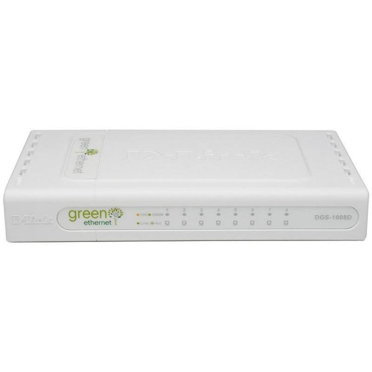 DGS-1008D Gigabit ethernet-switch