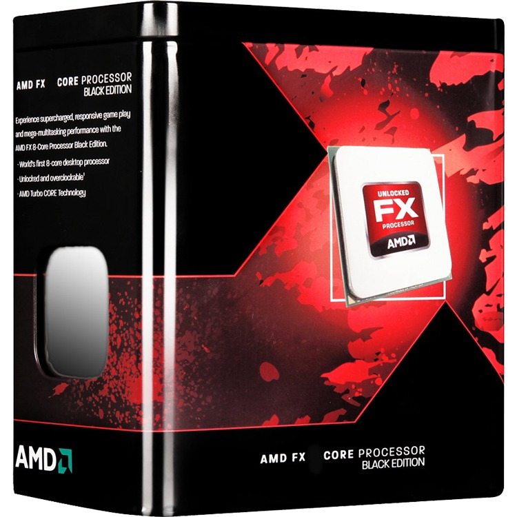 Image of AMD FX 8320E Black Edition