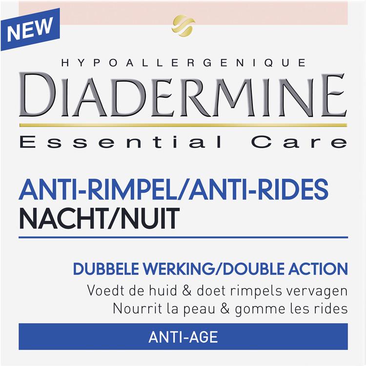 Image of Essential Care Anti-Rimpel Nachtcrème (50 Ml)