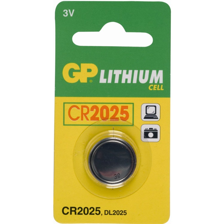 Gp Bat.lith.knoopcel Cr2025 ^ Stuk