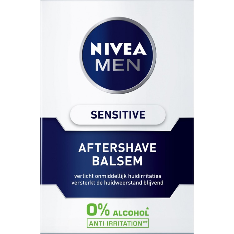 Image of Men Sensitive Aftershave Balsem, 100 Ml