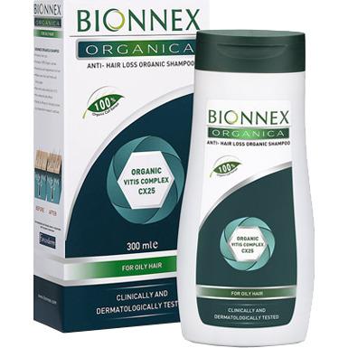 Image of Organica Anti-haaruitval Shampoo Voor Vet Haar, 300 Ml