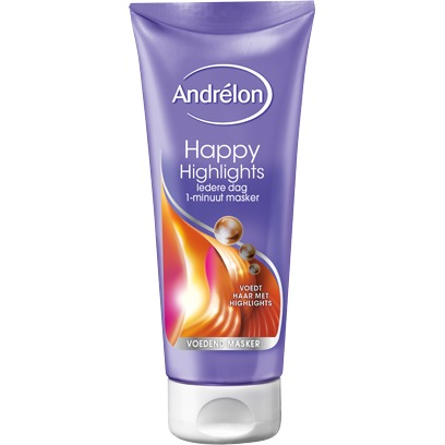 Image of Happy Highlights 1 Minuut Masker, 180 Ml