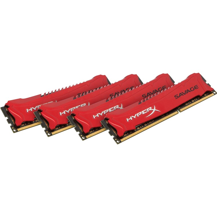 Kingston HyperX Savage 32 GB DIMM DDR3-1600 Kit van 4