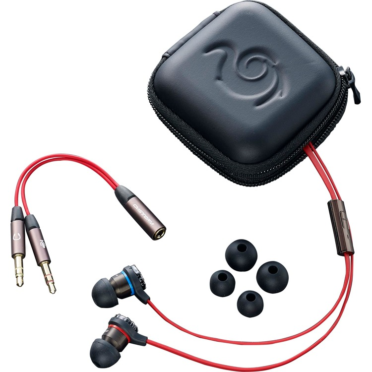 Cooler Master CM Storm Resonar Gaming Earphone - Headphones with mic - in-ear