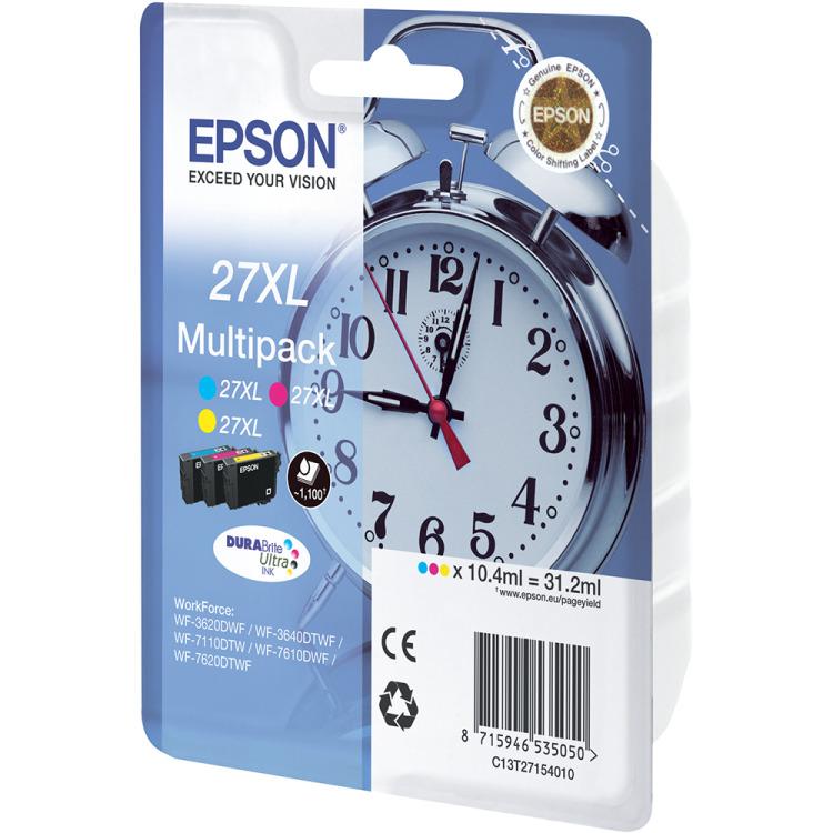 Epson 27 XL COMBI (ALLEEN KLEUREN) Inkt