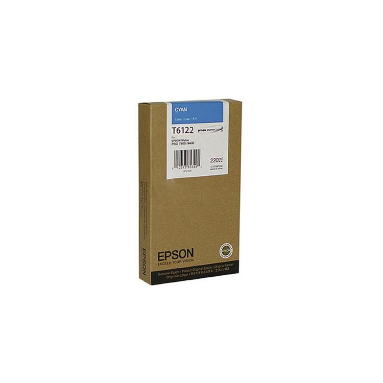 Epson T6122 Inktcartridge - Cyaan