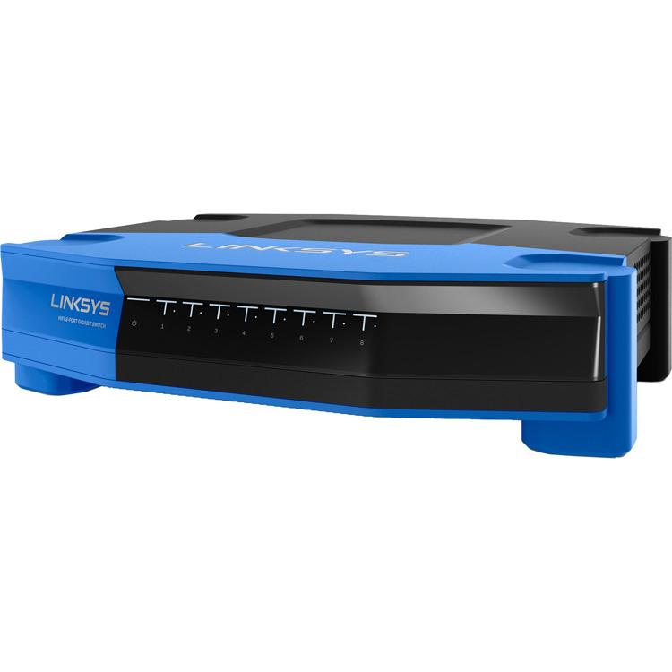 SE4008 8-poorts Gigabit-switch