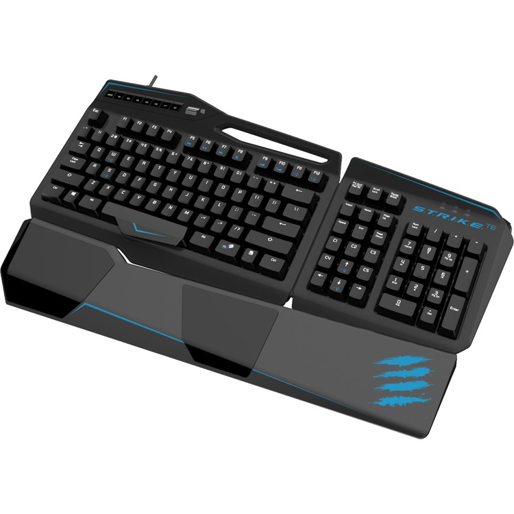 Madcatz S.T.R.I.K.E. TE Mechanical Qwerty Gaming Toetsenbord - Zwart (PC)