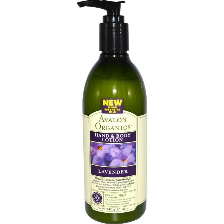 Image of Lavender Hand & Body Lotion, 340 G