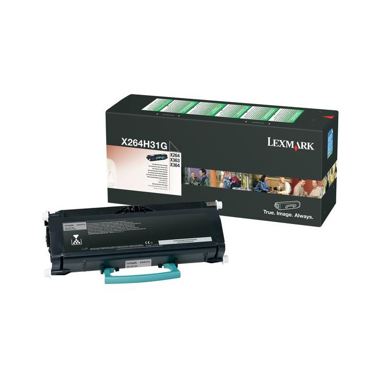 Lexmark tonercartridge 0X264A11G black