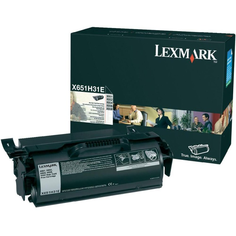 Lexmark X65x High Yield Print Cartridge
