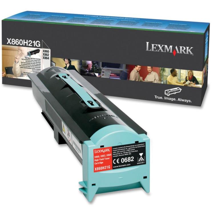 Lexmark Tonercartridge X860H21G zwart