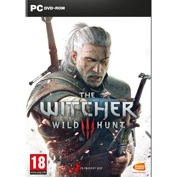 PC DVD The Witcher 3: Wild Hunt