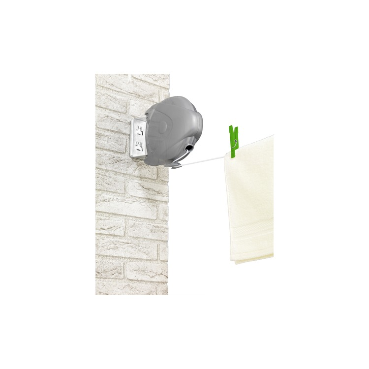 Wenko Klein huishoudelijke accessoires Uittrekbare waslijn