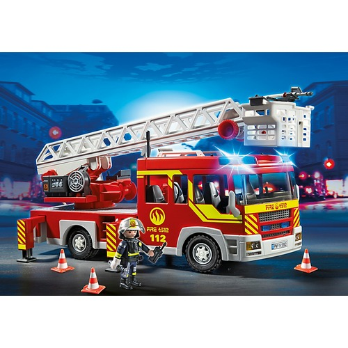5362 Brandweer ladderwagen met licht en sirene