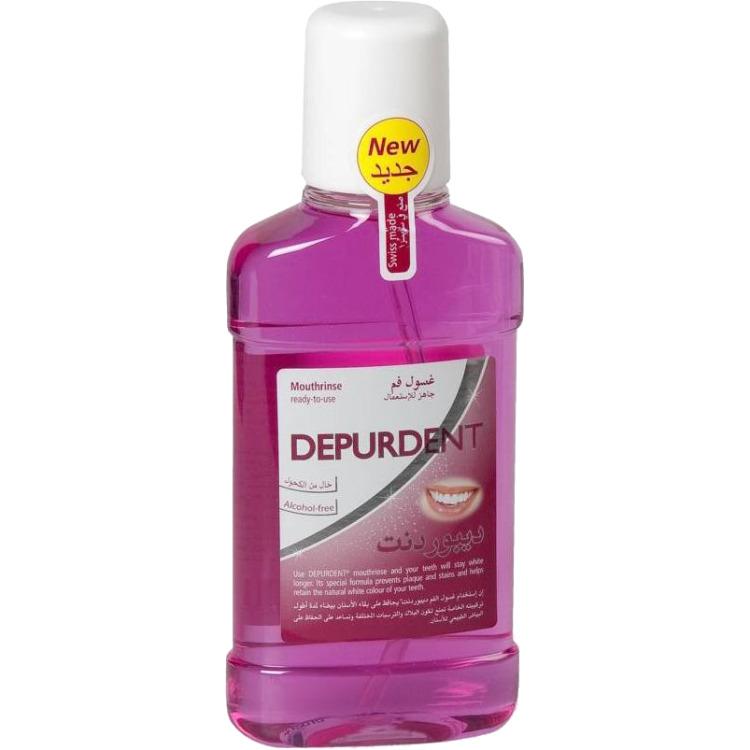 Depurdent Witte Tanden - 250 ml - Mondwater