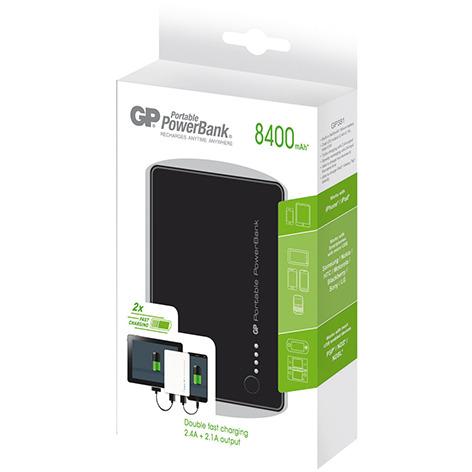 GP Portable PowerBank 381 8.400 mAh