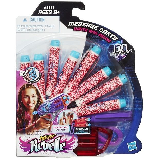 Nerf Rebelle code red dart refill