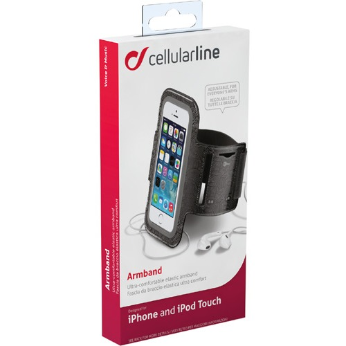 Image of Cell Armband Zwart Ipod/iphone