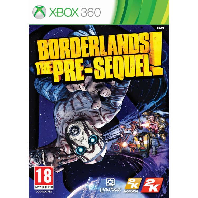 Image of 2KG Borderlands The Pre Sequel! 18 XB3