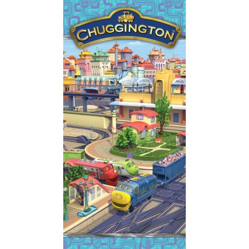 Image of Badlaken Chuggington station: 70x140 cm