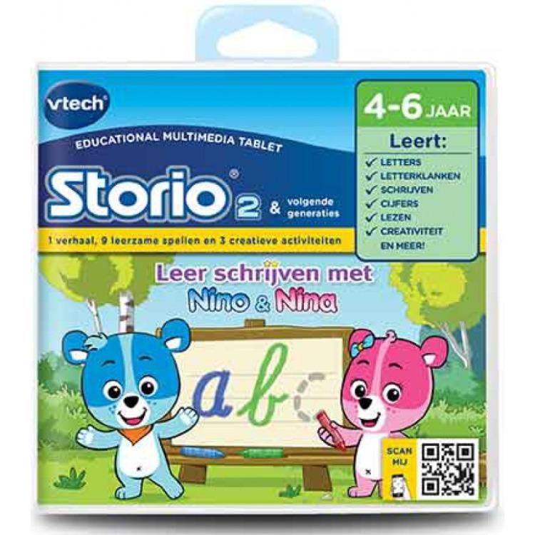 Vtech Storio 2 - Nino & Nina Leren Schrijven