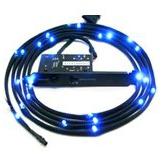Sleeved blauwe LED Kit, 2 meter