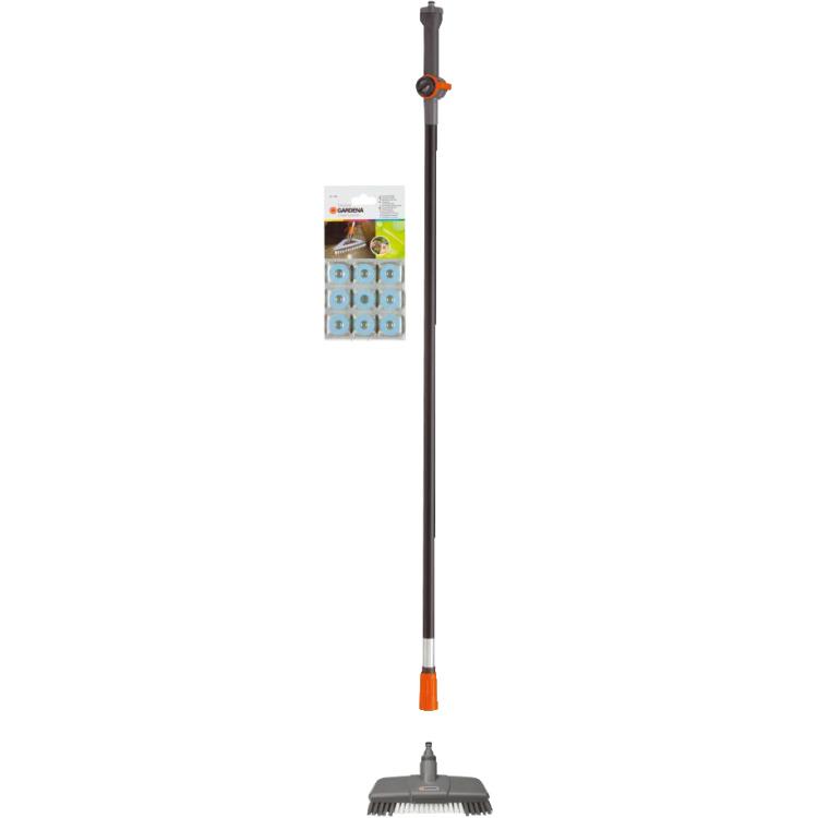 Gardena Cleansystem Vloerschrobber-set