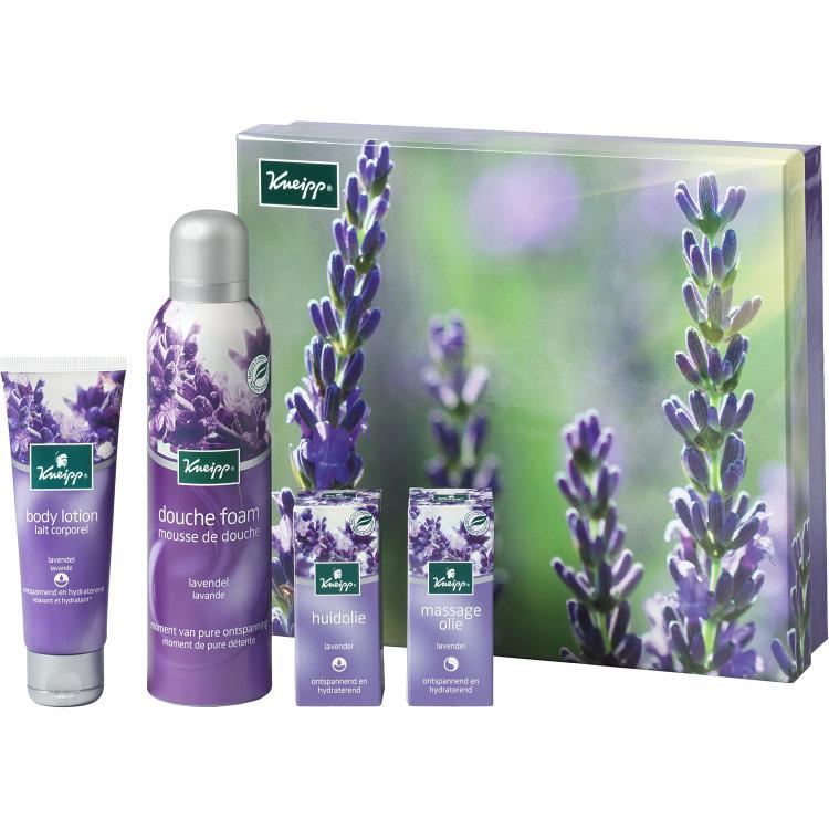 Image of Lavendel Geschenkset, 4-delig