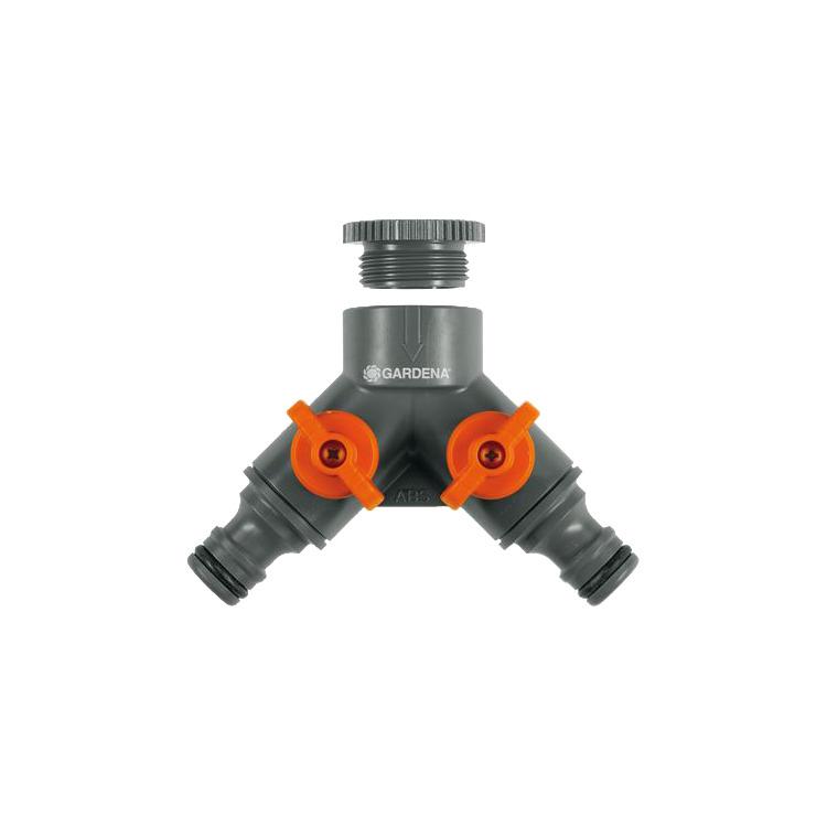 2-weg ventiel 26,5 mm (G 3-4)-21 mm (G 1-2)