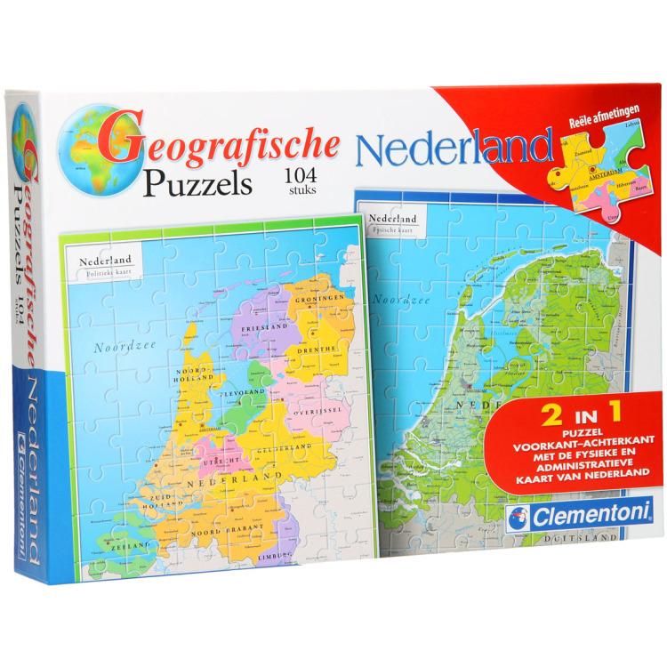 Image of Clementoni Puzzel Nederland 104 Stukjes