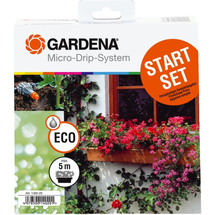 Gardena Micro Drip System Bloembakken Startset
