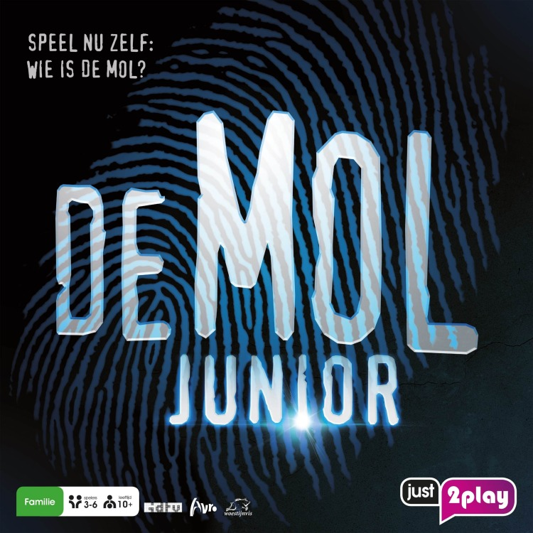Wie Is De Mol? Junior - Bordspel