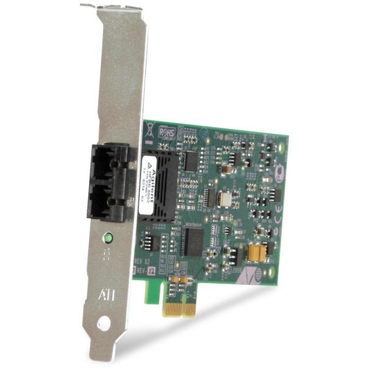 Image of 100Mbps Fast Ethernet PCI-Express FiberAdapter Card SC Connector Includes Bothstandard And Low Profile Brackets Single Pack Ch
