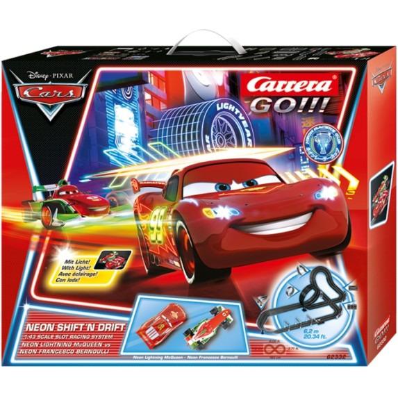 Carrera GO!!! Disney/Pixar Neon Shift'n drift         62332