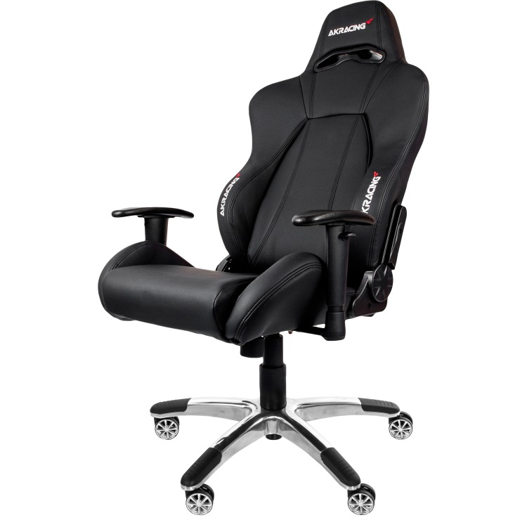 AK Racing AKRACING, Premium Gaming Chair (Zwart-Zwart) (AK-7002-BB)