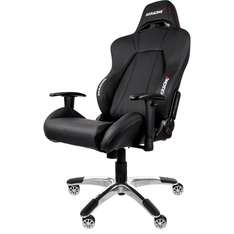 Image of AK Racing Premium Gaming Chair Zwart / Zwart