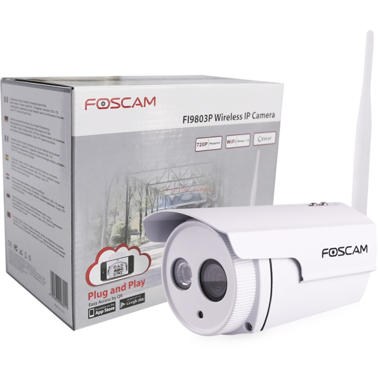 FOSCAM FI9803P OUTDOOR HD PNP CAMERA