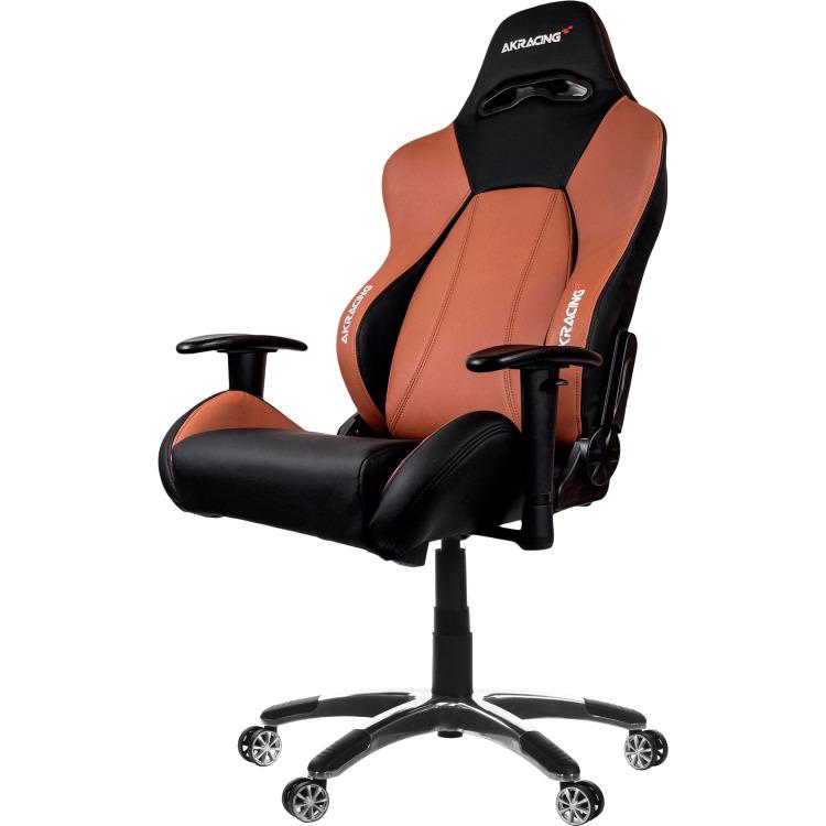 AK Racing AKRACING, Premium Gaming Chair (Zwart-Bruin) (AK-7001-BB)
