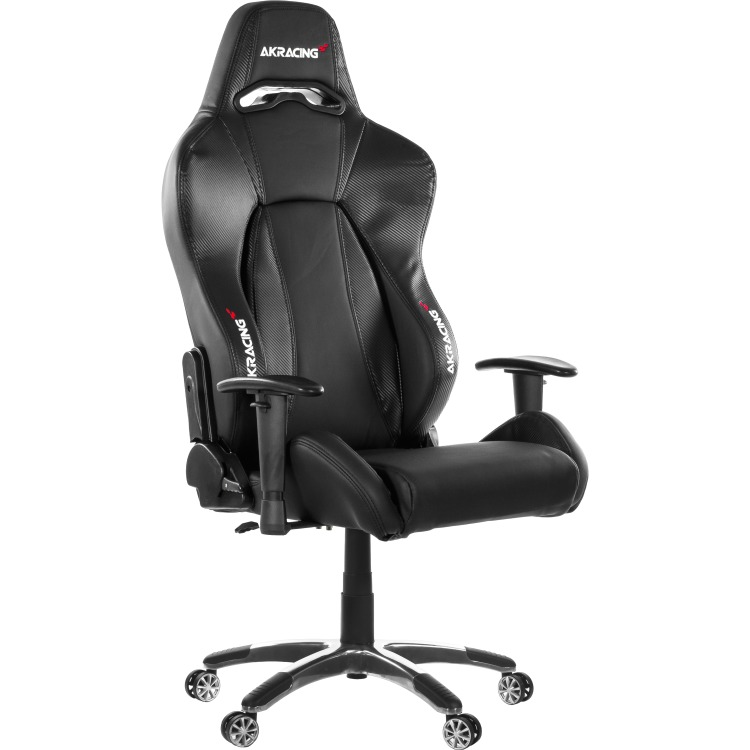AK Racing AKRACING, Premium Gaming Chair (Carbon Black Edition) (AK-7002-CB)
